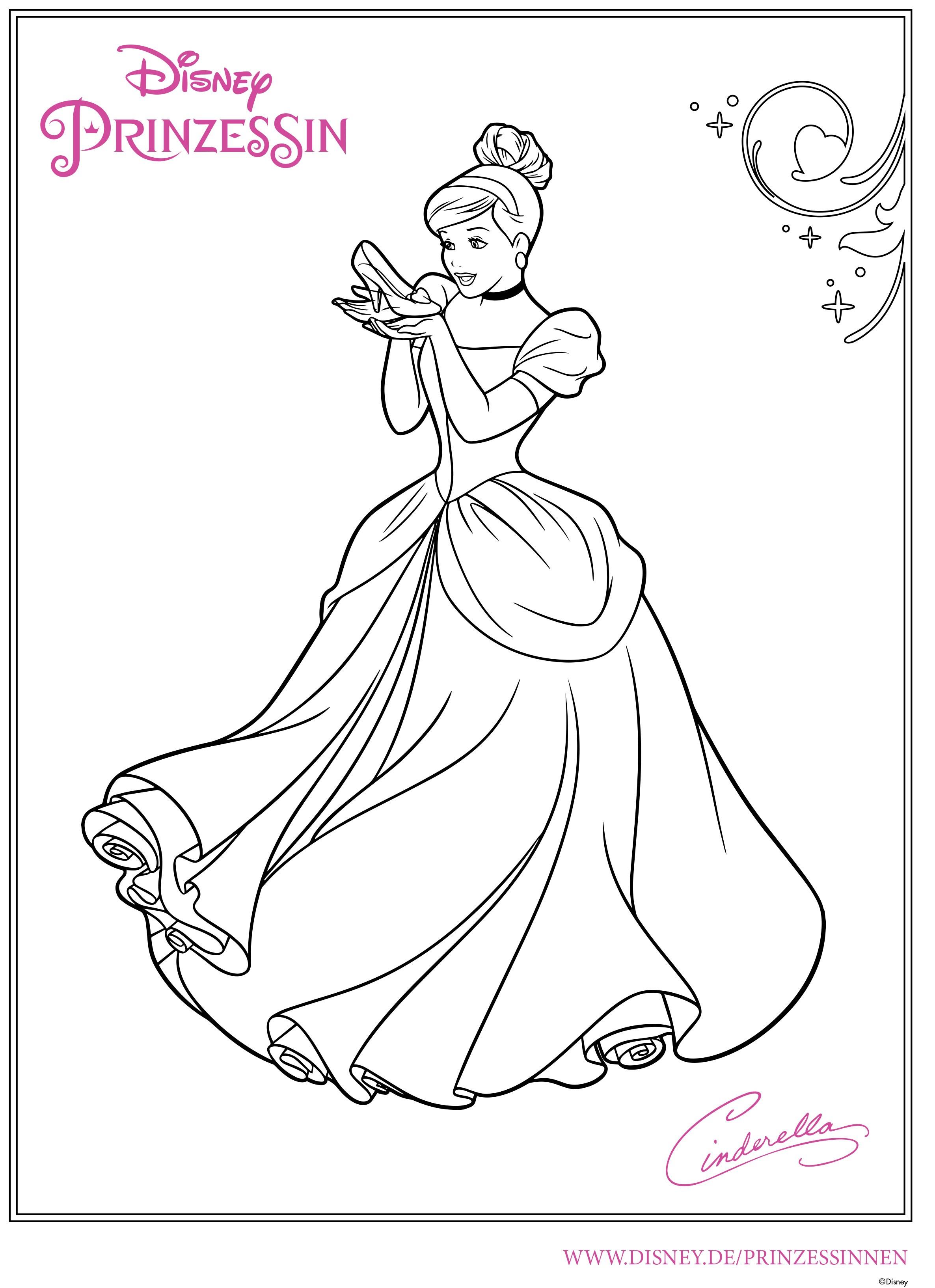 Wellcome To Image Archive Ausmalbilder Cinderella
