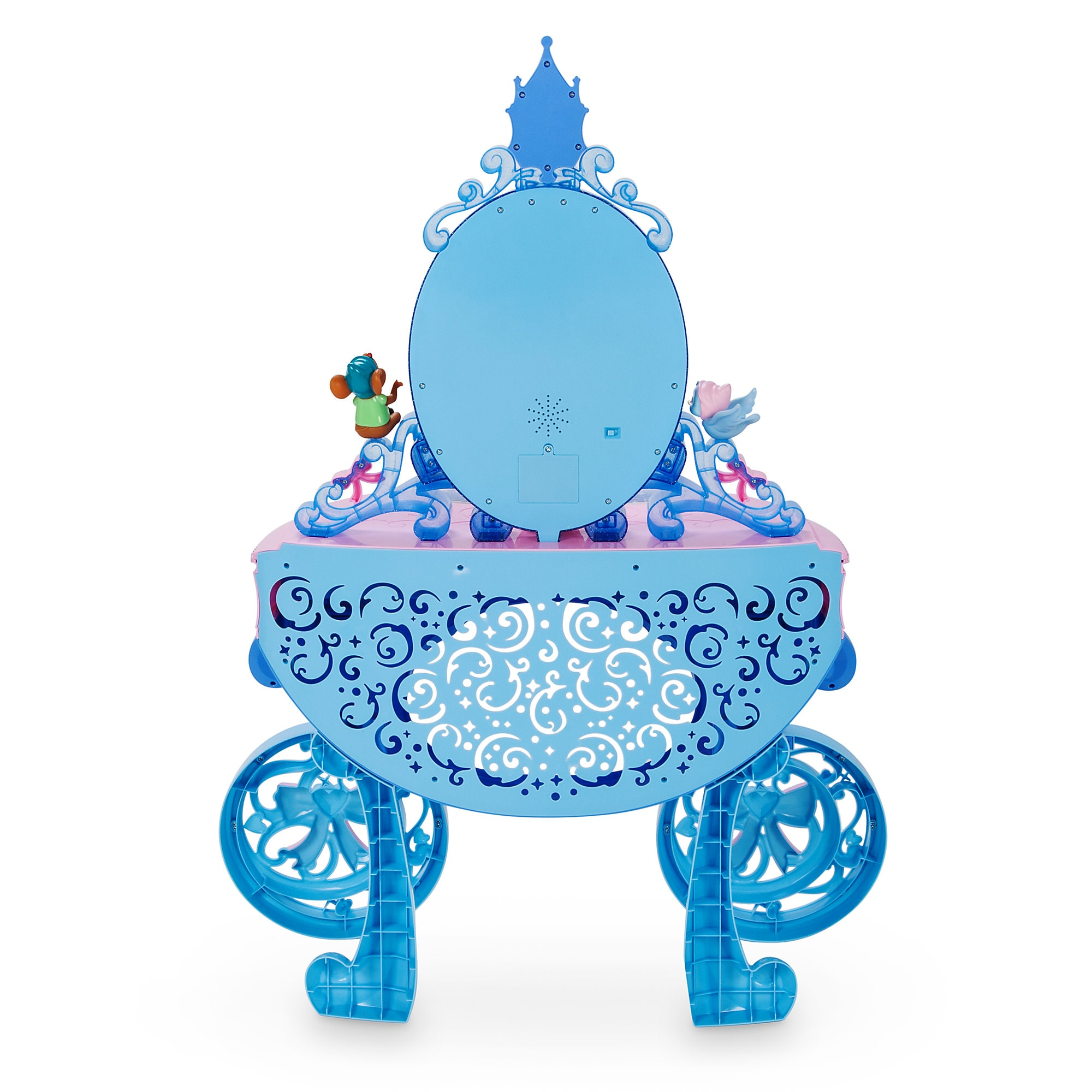 product image of cinderella carriage light up vanity play set 4 [ 1200 x 1200 Pixel ]