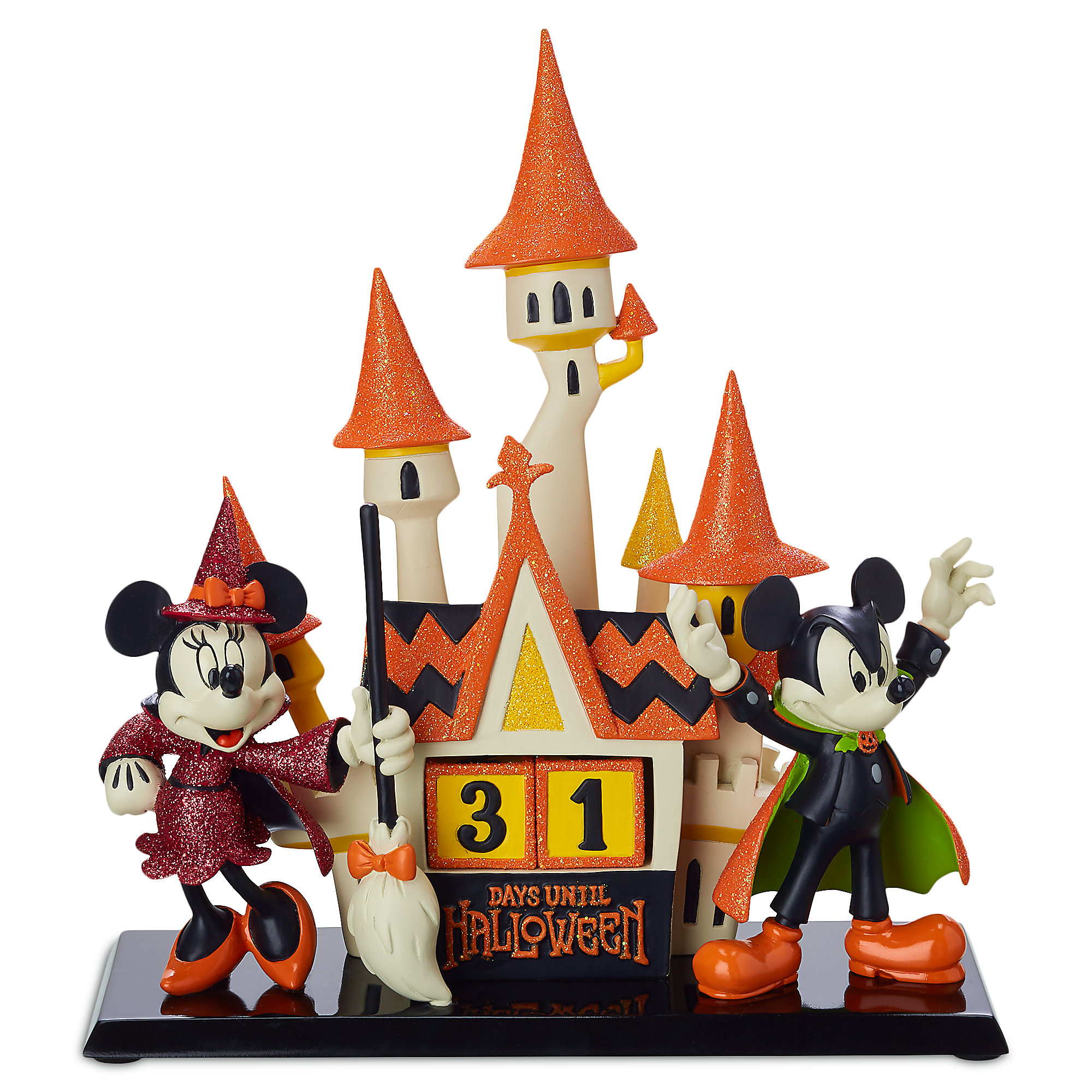 Mickey and Minnie Mouse Halloween Countdown Calendar  shopDisney