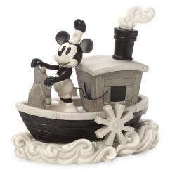 Kids Play Kitchen Sets Island Countertops Mickey Mouse Steamboat Willie Figurine By Precious Moments ...