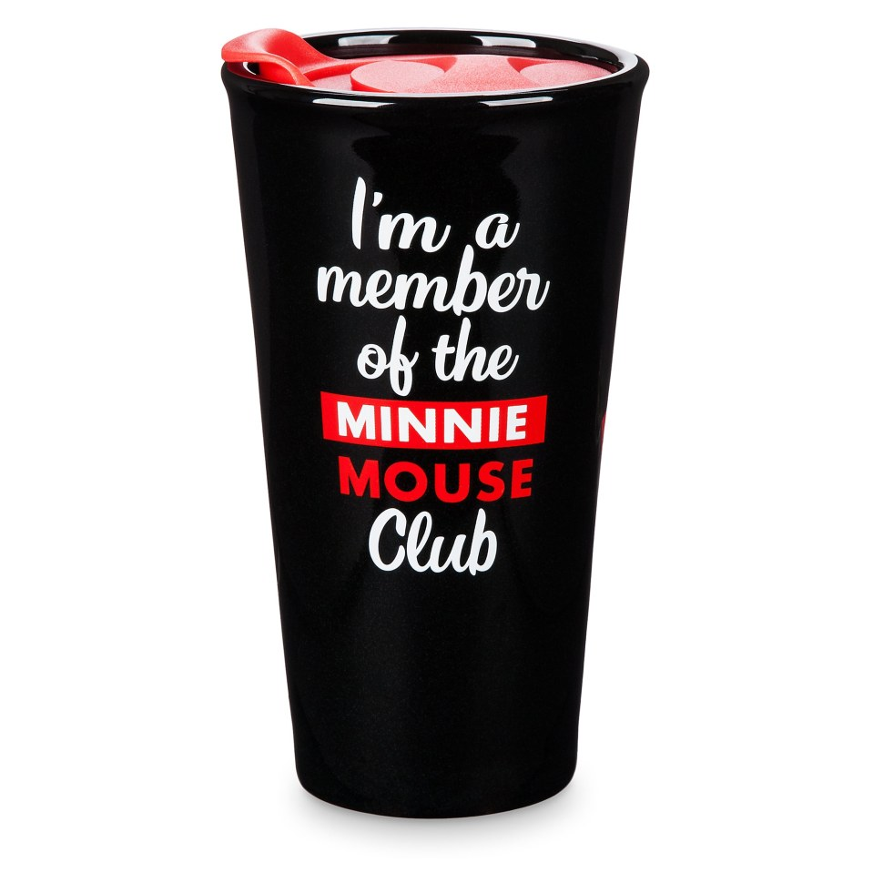 Product Image of Minnie Mouse Club Ceramic Travel Tumbler # 2