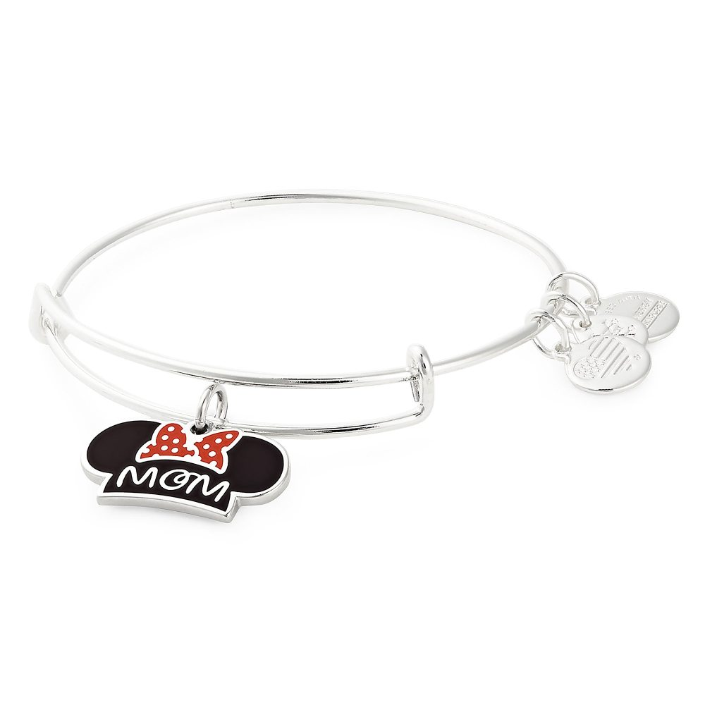 Minnie Mouse Ear Hat ''Mom'' Bangle by Alex and Ani Official shopDisney