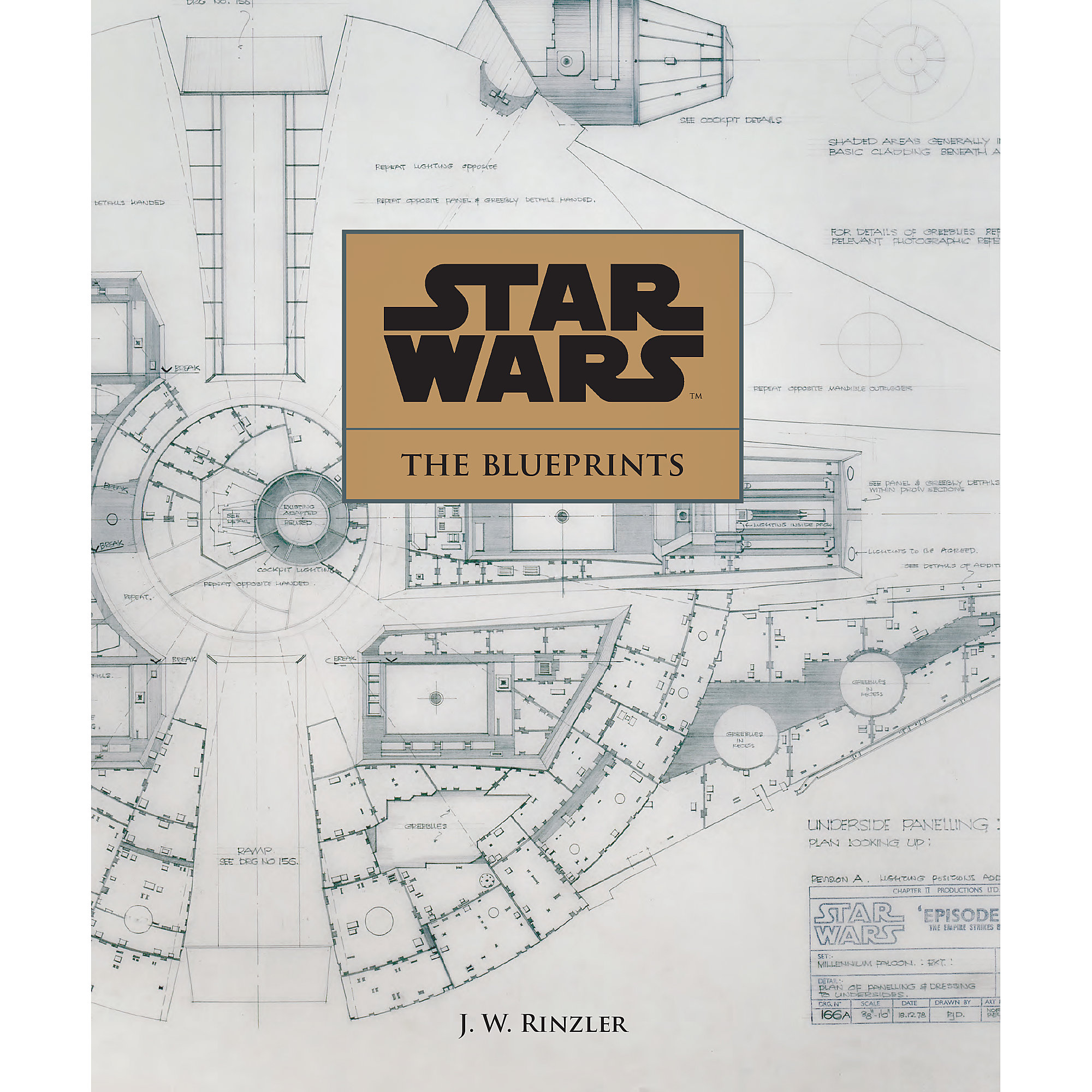 hight resolution of product image of star wars the blueprints book 1