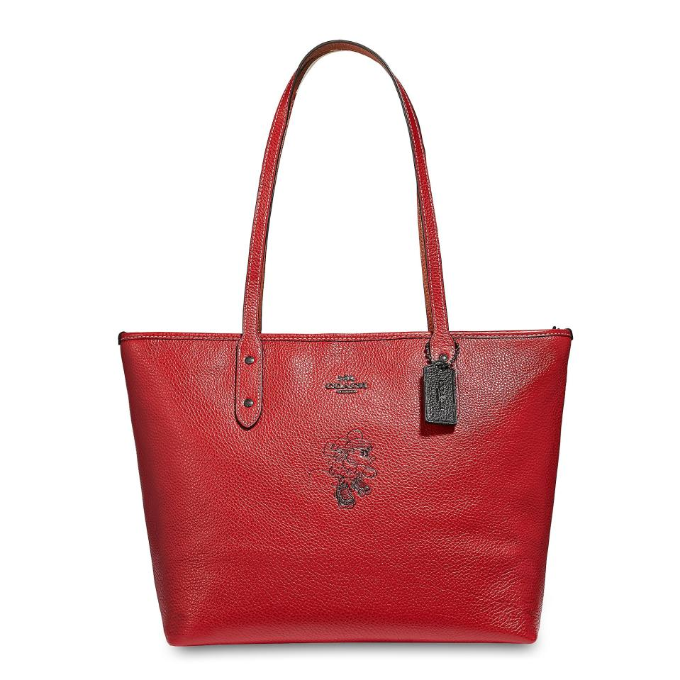 Product Image of Minnie Mouse Rollerskate City Zip Tote by COACH # 1
