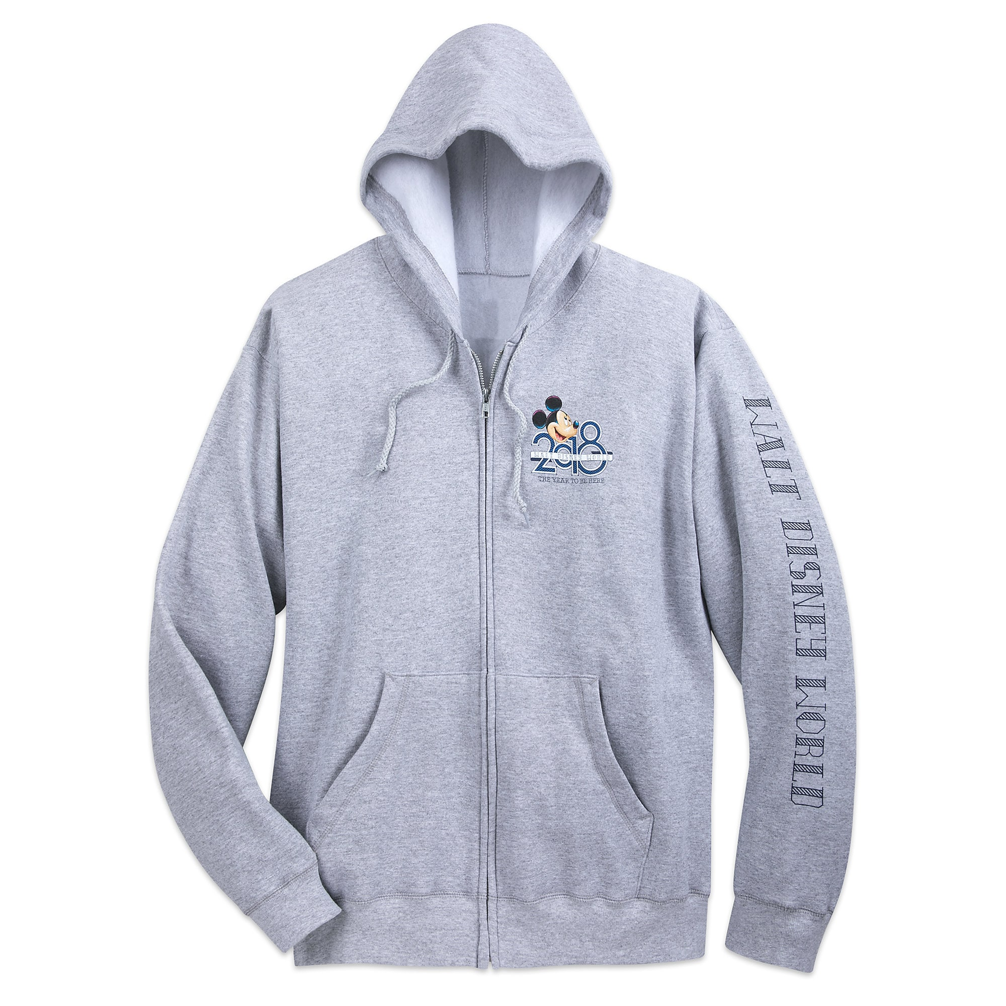 Mickey Mouse and Friends Hoodie for Adults  Walt Disney World 2018  shopDisney