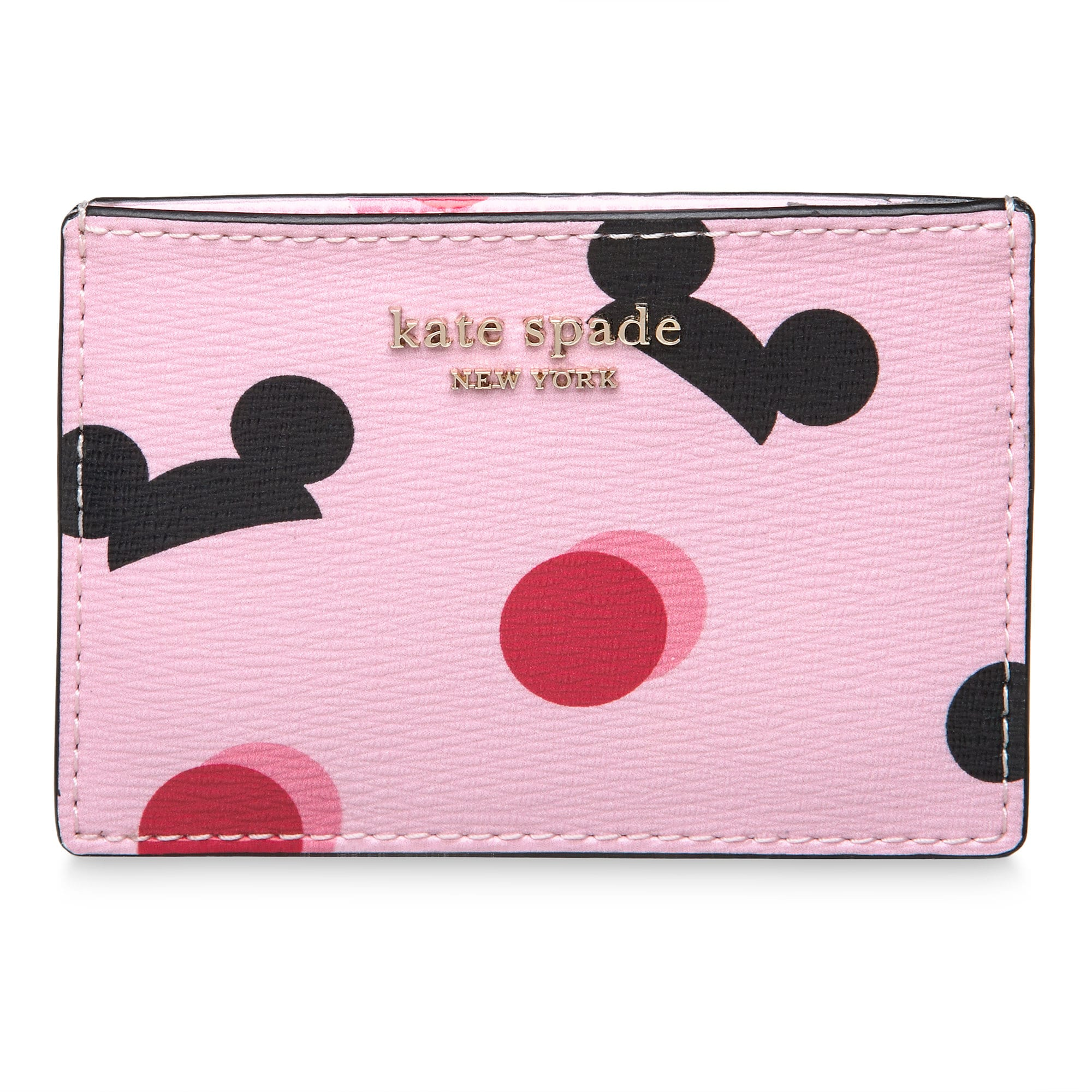 Mickey Mouse Ear Hat Credit Card Case by kate spade new york - Pink Official shopDisney