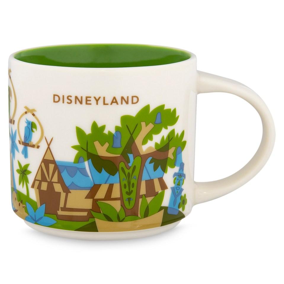 Product Image of Disneyland Starbucks YOU ARE HERE Mug # 1