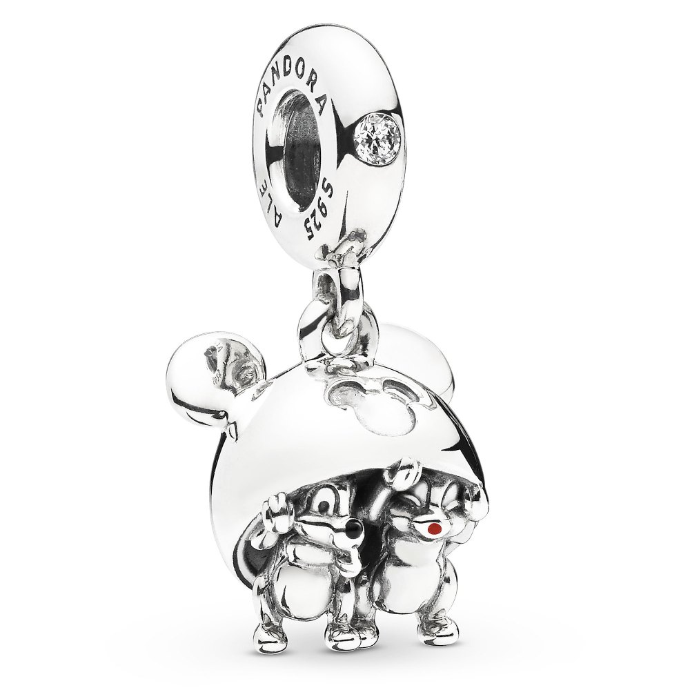 Chip 'n Dale Mickey Ear Hat Charm by Pandora Jewelry Official shopDisney