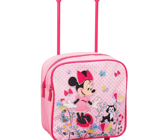 Minnie Mouse Rolling Luggage Small