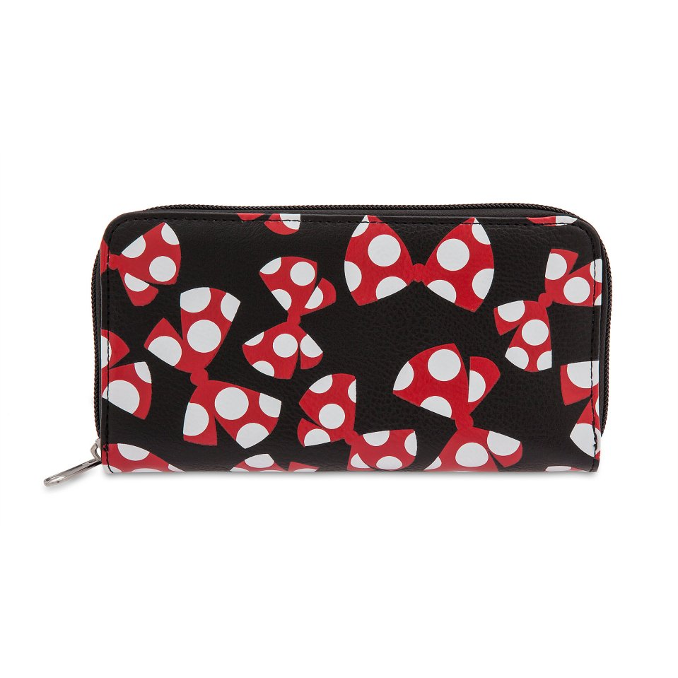 Product Image of Minnie Mouse Bow Wallet # 1