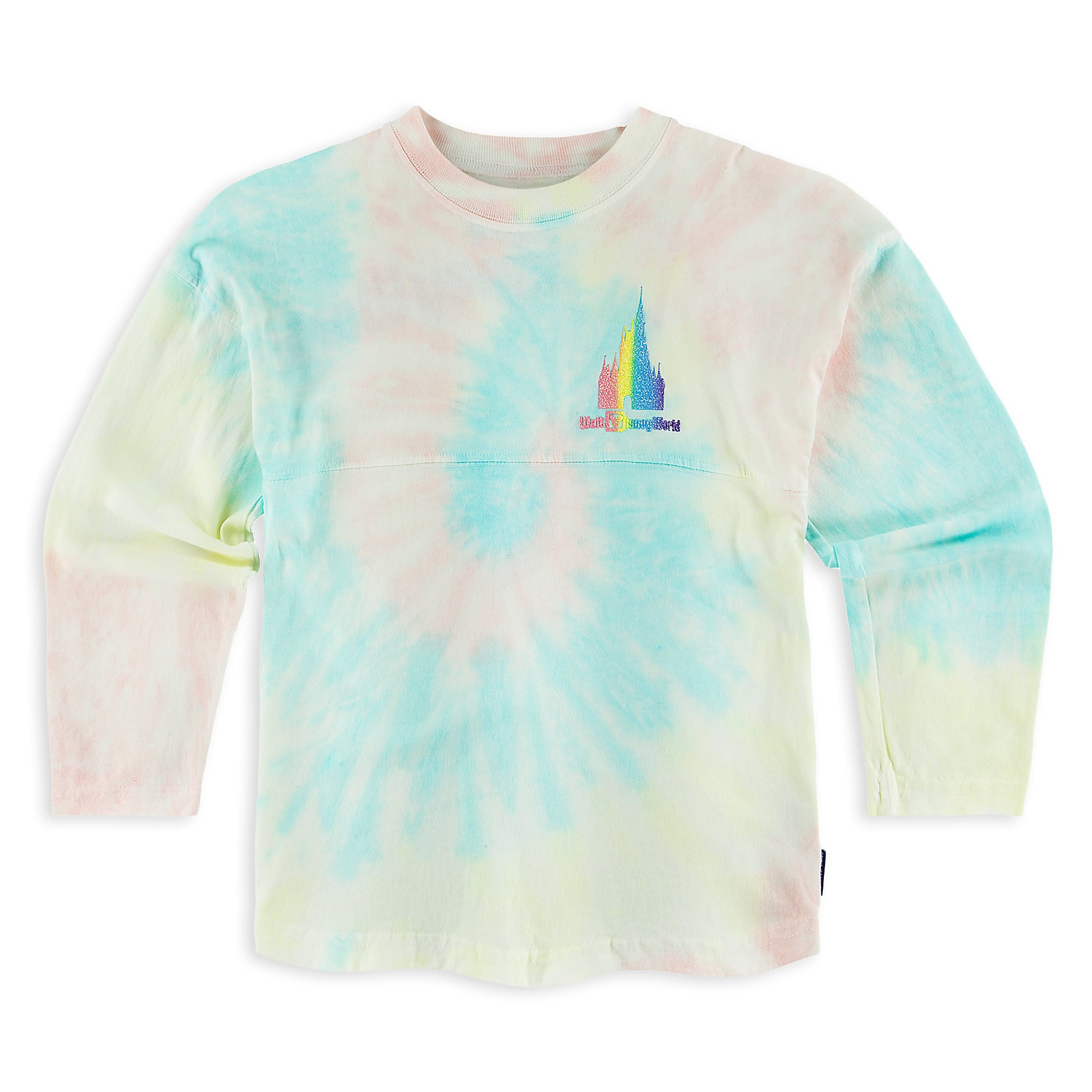 Walt Disney World Rainbow Spirit Jersey For Girls ShopDisney