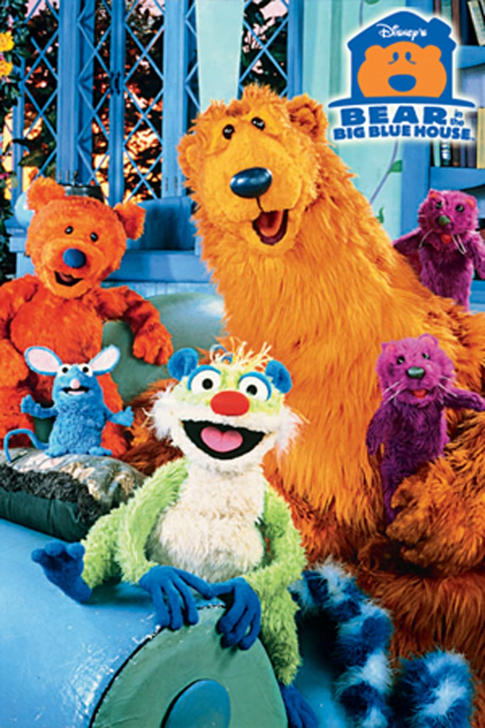 Bear In The Big Blue House Woodland Valley : house, woodland, valley, House, Disney, Movies