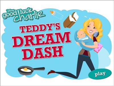 Good Luck Charlie Teddy S Dream Dash Disney Lol