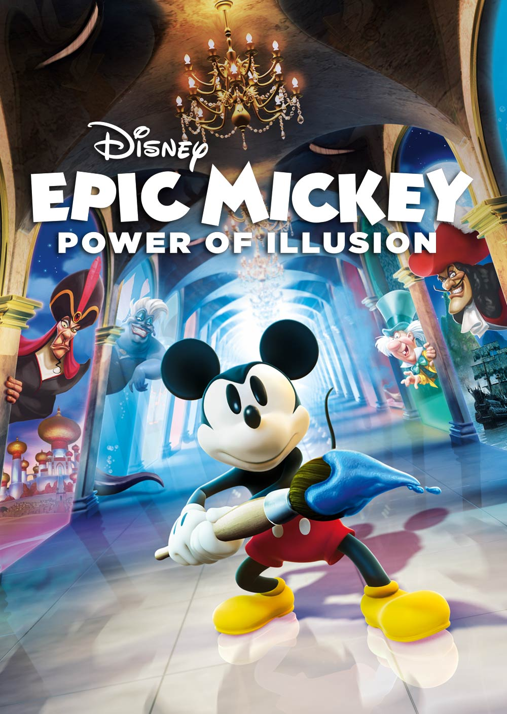 Mickey Mouse Paint Game : mickey, mouse, paint, Disney, Mickey:, Power, Illusion