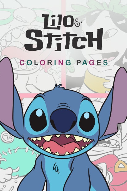Lilo And Stitch Coloring Pages Disney LOL