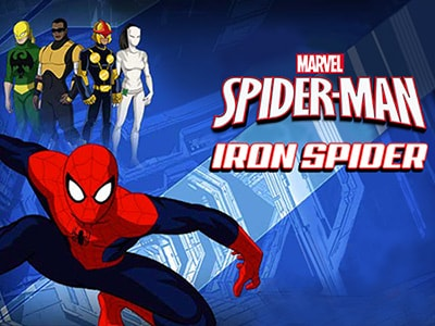 Marvel S Ultimate Spider Man Iron Spider Spider Man
