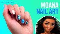 Moana Nail Art | TIPS | Disney Style | Disney Video