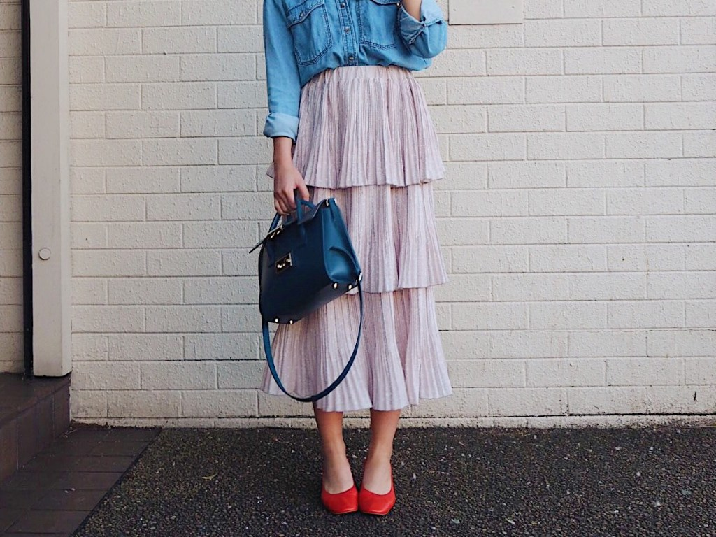 How I'm wearing the ruffle trend (with links to ASOS)