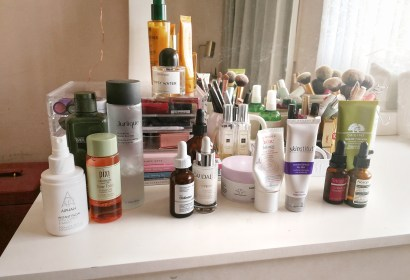 skincare review, origins mega mushroom skin relief, pixi glow tonic, the ordinary reinoid, caudalie vinoperfect serum, anti aging, skinstitut moisture defence, skinstitut, avene, aesop fabulous face oil, lumieredhelen, lumiere d'helen, bblogger, beauty blogger, reviews