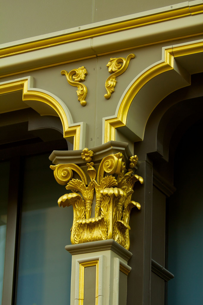FEVE Coating Simulates Dazzling Gold Leaf On Facade