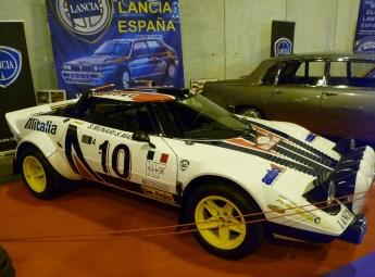Lancia Strato (no se si seria una replica pero siempre deslumbra)