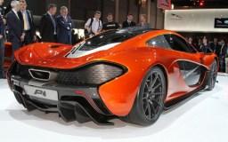 McLaren P1 Back Trasera Orange
