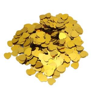Guldfarvede konfetti
