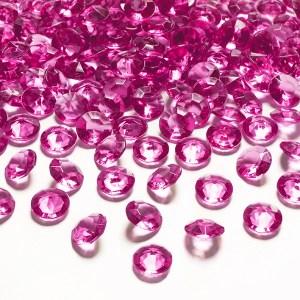 Borddiamanter pink