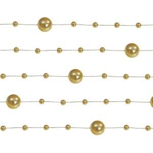 Guld perlekæder
