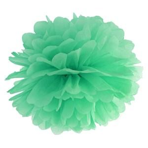 Mintgrøn Pom Pom