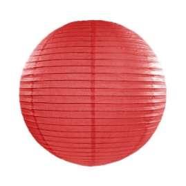 Rispapirlampe rød
