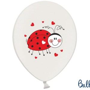 Balloner med mariehøne