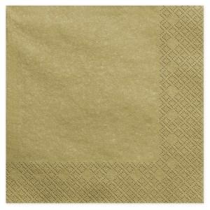 Guldfarvede servietter
