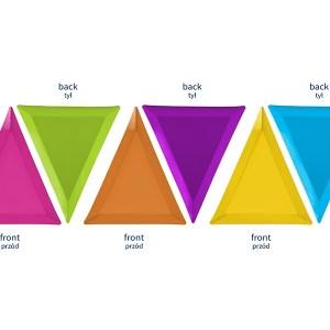 tallerken trekant