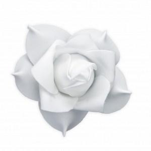 Hvid blomst til bilen