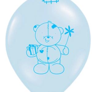 Ballon med plysbamse