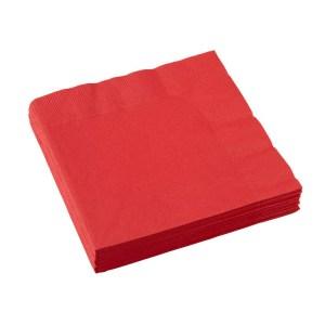 Røde servietter