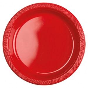 Apple red engangstallerken