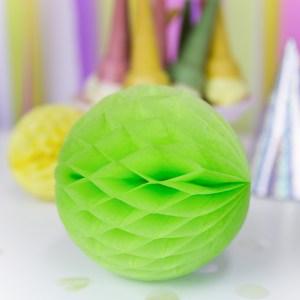 Æble grøn papirkugle
