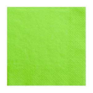 Lysegrønne servietter