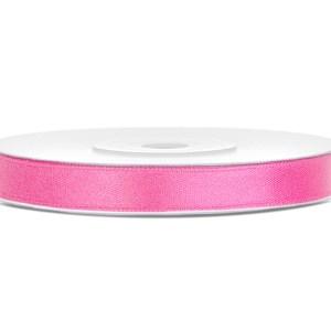Pink satinbånd