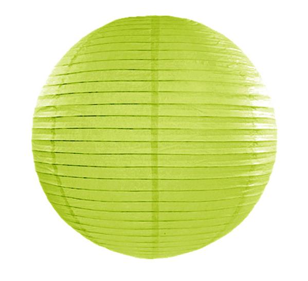Lime rispapirlampe