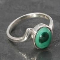 Malachite Ring | Lumina Jewellery