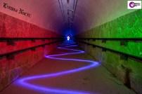 Silueta en El Tunel con RGB
