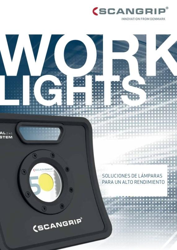 Scangrip - Luces de Trabajo