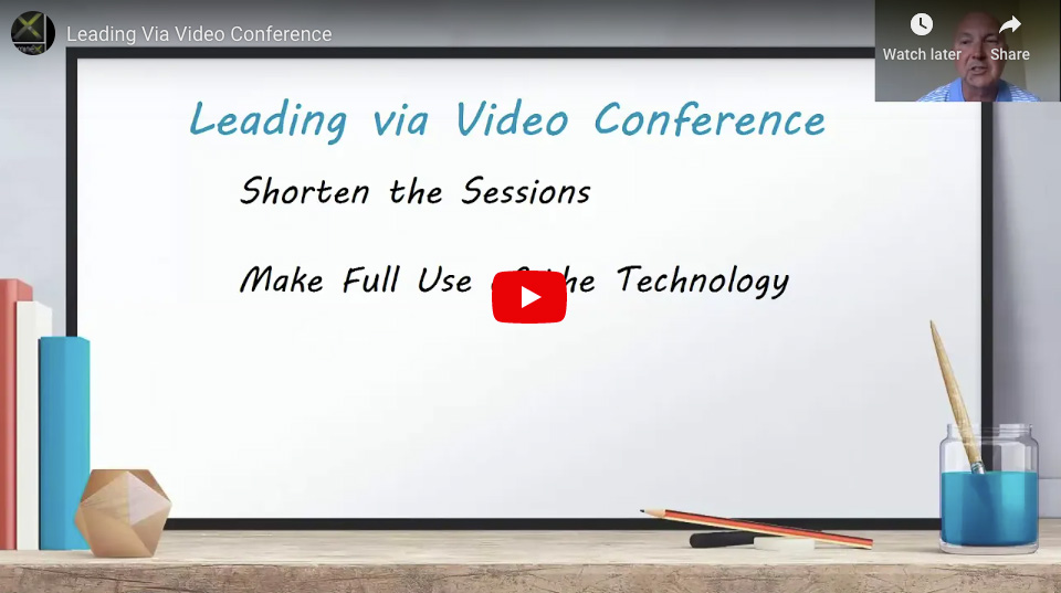 Leading Via Video Conference – Whiteboard Wednesday, COVID Edition – Episode 4