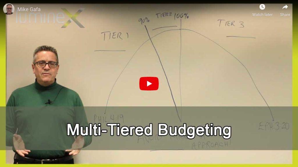 Multi-Tiered Budgeting (2Q'2019)