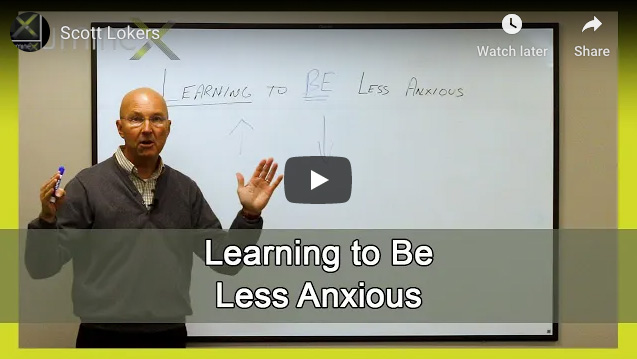 Learning to be less anxious