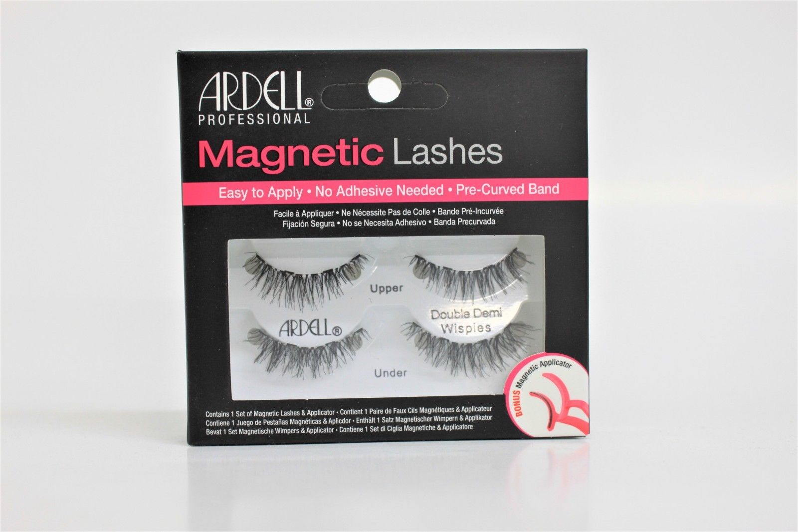 92f06e1880f Ardell Magnetic Strip Lashes – Double Demi Wispies Eyelashes With Applicator