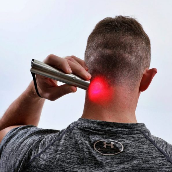 Red light therapy neck pain